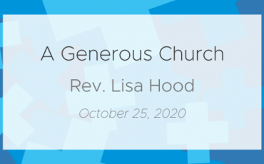 Exploring Generosity: A Generous Church