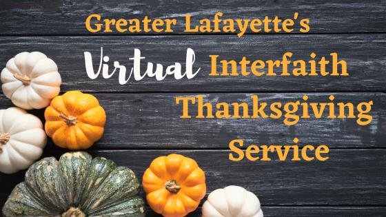 2020 Interfaith Thanksgiving Service