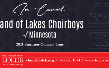 Land of Lakes Choirboys of Minnesota In Concert