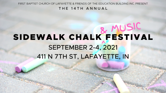 2021 Sidewalk Chalk & Music Festival